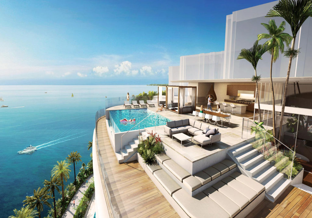 The Markers Grove Isles Penthouse Upper Deck with private Pool